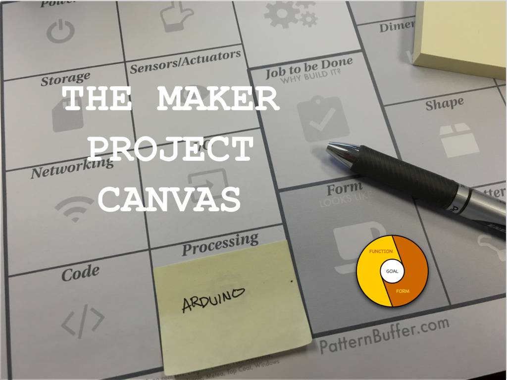 Maker Project Canvas